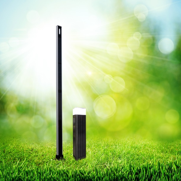 Solar Pole Lights and Bollards