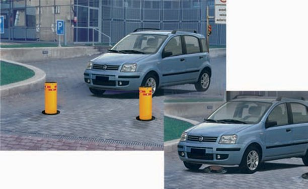 Static and Hydraulic Control Bollards