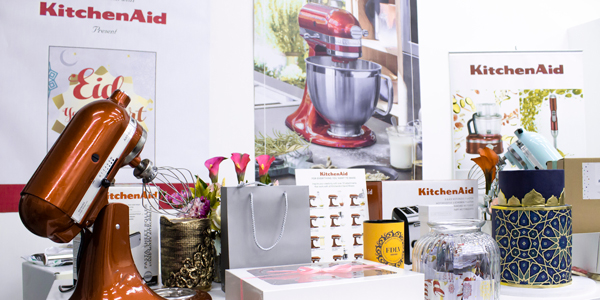 KitchenAid featured in CakeBox.me Eid Fair event