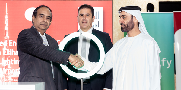 Philips and Al Ghandi Electronics sign LOI with Etihad ESCo for Dubai Airports