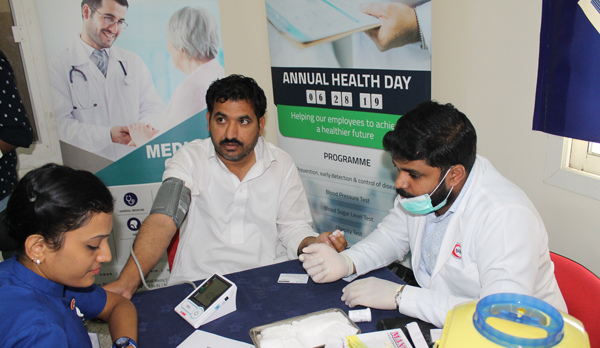 Annual Health Day organized for Al Ghandi Electronics staff