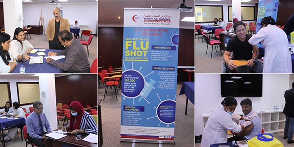 Flu vaccination camps for Al Ghandi Electronics staff
