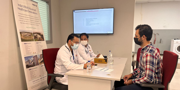 Medical Check-Up Camp for Al Ghandi Electronics staff held