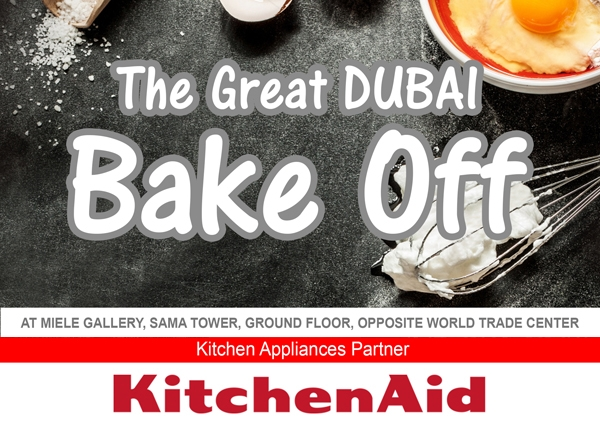 The Great Dubai Bake Off Event - KitchenAid Appliances partner