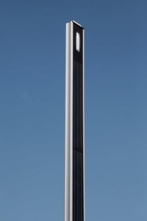STRAIGHT SOLAR POLE LIGHT 4.6 M